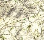 """""""Nieder Hinnebeck"""", Preußische Uraufnahme von 1840"""