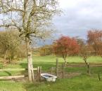 Herbstliche Weide am Hof