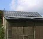 Photovoltaikanlage auf der Scheune