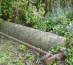 Alte Wiesen-Glattwalze im Garten